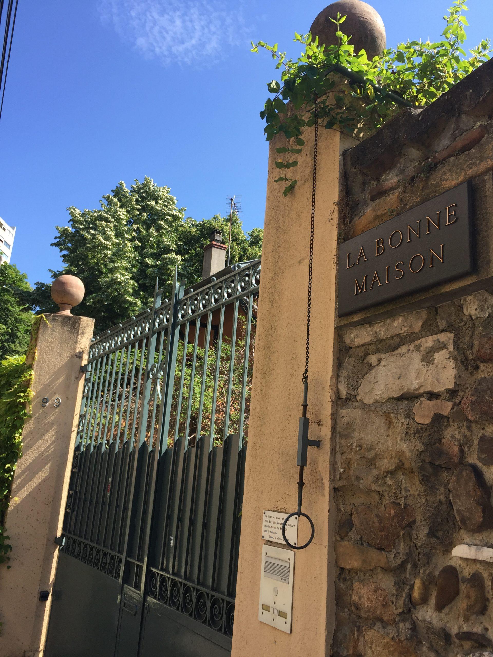 Le jardin La bonne maison