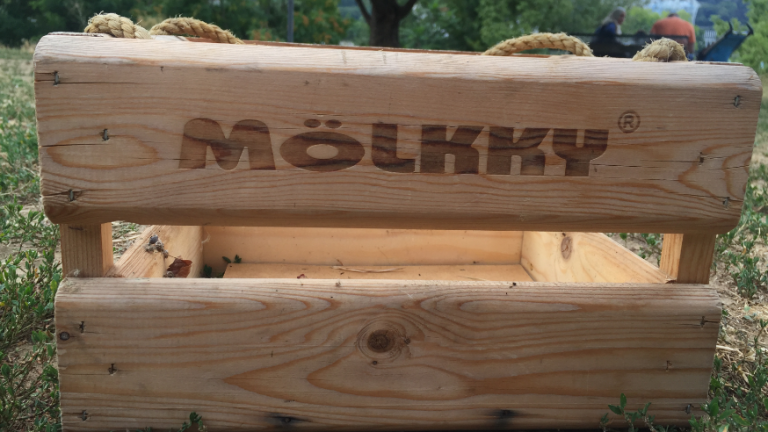 Jeu de lancer en bois MOLKKY