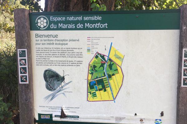 Le parc naturel à visiter dans l'Isère : Le Marais de Monfort