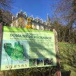 Mon parcours de randonnée vers le château du domaine de Rochasson à Meylan