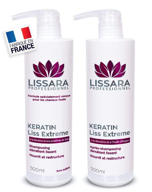 lissara shampooing sans sulfate