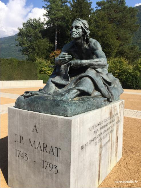 Statue au parc de vizille