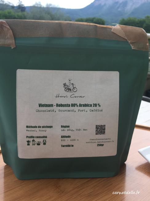 Café robusta à la vietnamienne