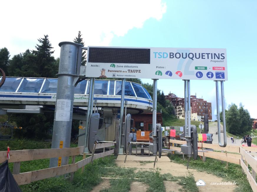 Station télésiège Bouquetins