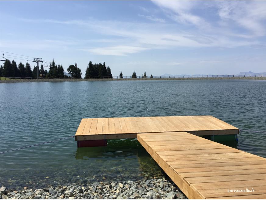 Lac actificiel, Chamrousse