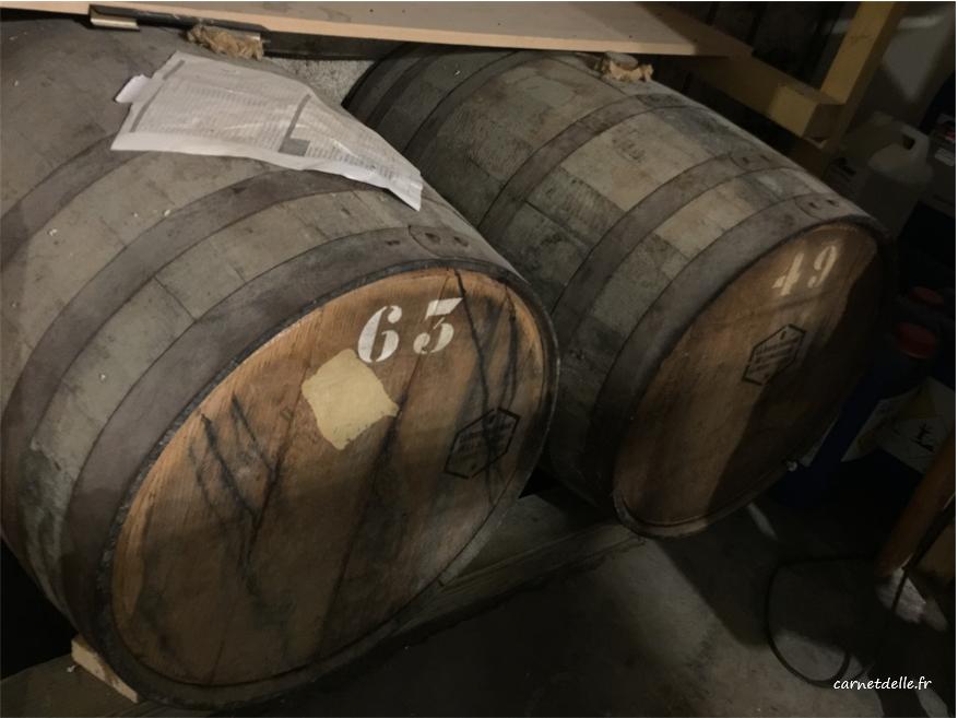 Tonneaux de wisky récupérés pour fabrication de bière